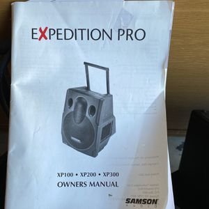 Amazing Speakers! Expedition Pro Speakers, BOSE AMP DJ Equipment for Sale in Mission Viejo, CA