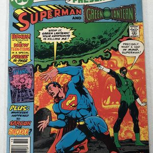 DC Comics Presents #26 - First appearance of New Teen Titans Cyborg Raven St for Sale in Byron, CA