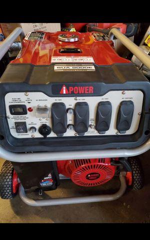 I POWER 9.000 WATTS HEAVY DUTY ELECTRIC START GENERATOR BRAND NEW for Sale in San Bernardino, CA