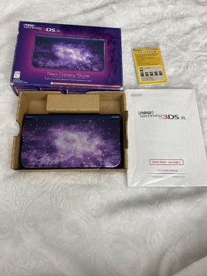 New Nintendo 3DS XL Galaxy Edition with original box. for Sale in Miami, FL