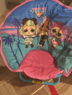 Kid LOL Chair For Toddler for Sale in Varna,  IL