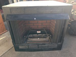 Natural gas fireplace for Sale in Hanna City, IL