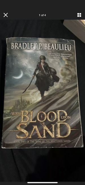 With Blood upon the Sand: Song Of Shattered Sands for Sale in Chicago, IL