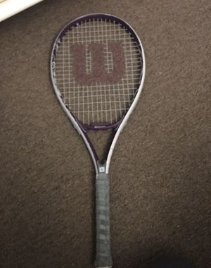 "Wilson ""hope"" tennis racket for Sale in East Providence, RI"