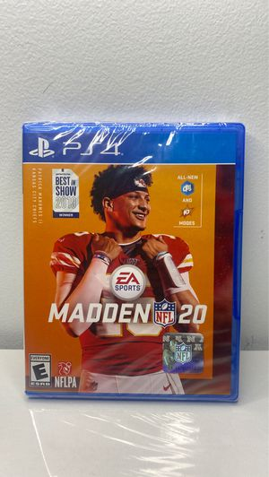 Madden 20 play station 4 new in plastic ps4 for Sale in Snellville, GA