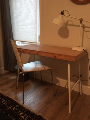 IKEA desk and chair for Sale in San Diego, CA