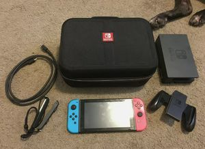 Nintendo Switch 32GB Console with Neon Red/Blue Joy-Con (Unpatched, Hackable) for Sale in Raleigh, NC