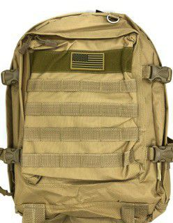 Brand NEW! Tan Tactical Molle Backpack For Traveling/Hiking/Biking/Camping/Outdoors/Work/Sports Gym for Sale in Torrance, CA
