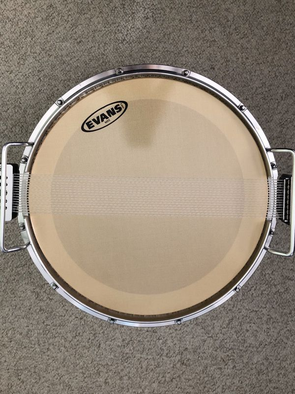 Pearl Marching Snare Drum / Carrier / Stand