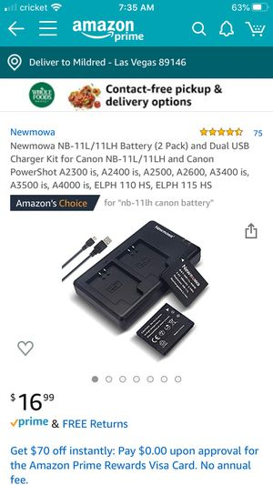 Battery charger for Sale in Las Vegas, NV