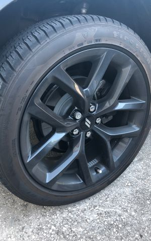 """20"""" Black Rims for Dodge Challenger for Sale in Clermont, FL"""