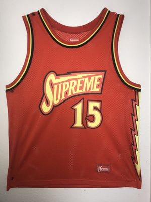 Supreme basketball jersey for Sale in Rancho Cucamonga, CA