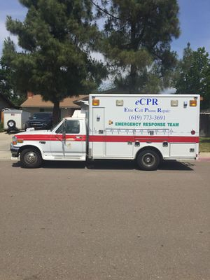 Ford F-350 1995 Diesel Ambulance Body for Sale in Lakeside, CA
