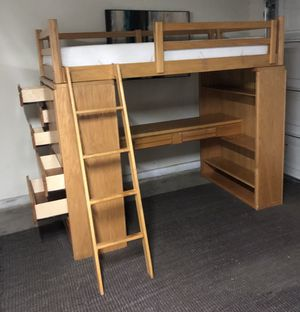Loft Twin size bed 🛌 ⭐️⭐️🚚 for Sale in San Jose, CA
