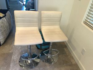 Bar stool height adjustable - 2 for Sale in Mountain House, CA