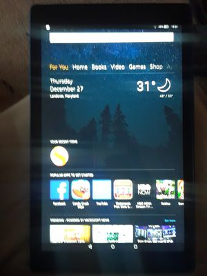 Amazon 10inch screen tablet for Sale in Washington, MD