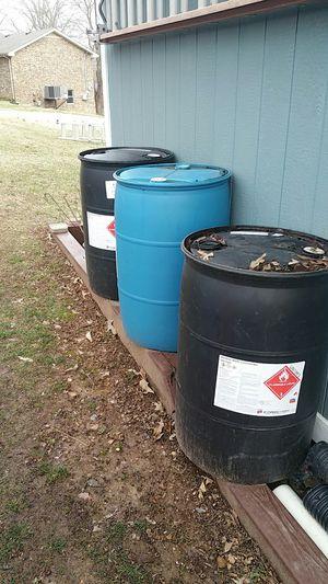 Rain barrels plastic drum 55 gallon? for Sale in Clarksville, TN