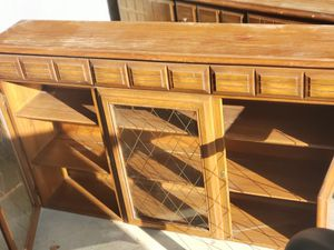 Solid 2 wooden two door, and another two door and three drawers dresser for Sale in CANAL WNCHSTR, OH