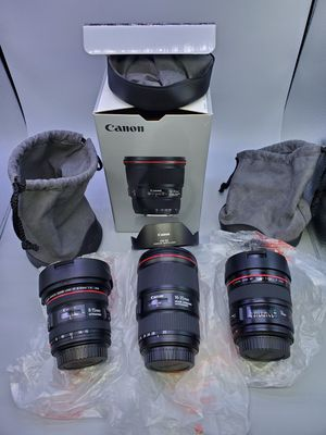 Canon ef lenses >READ DESCRIPTION < for Sale in Glendale Heights, IL