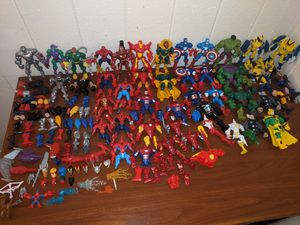 Huge Marvel Mashers Lot! Over 35 Figures for Sale in Lacey, WA