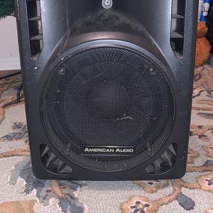 AMP SPEAKER AMERICAN AUDIO for Sale in Charlotte, NC