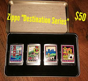 Zippo Destination Series collectible lighters for Sale in Oregon City, OR
