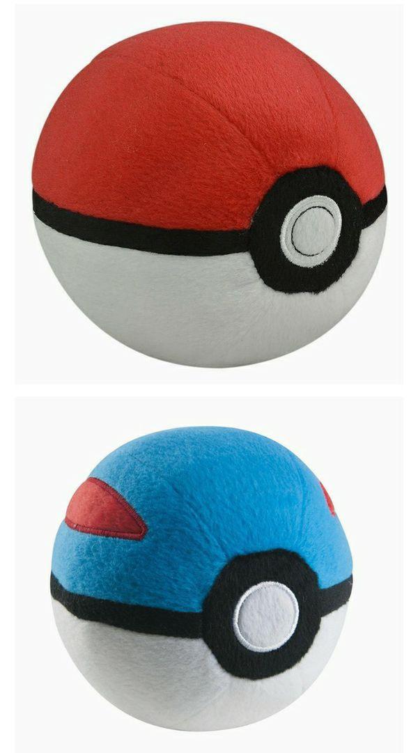 Pokemon Poke Ball 4-Inch Plush - Poke Ball