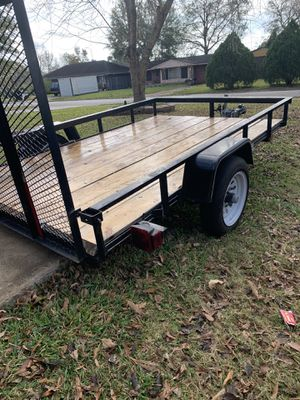 2018 6x8 utility trailer from Lowe's for Sale in Houston, TX
