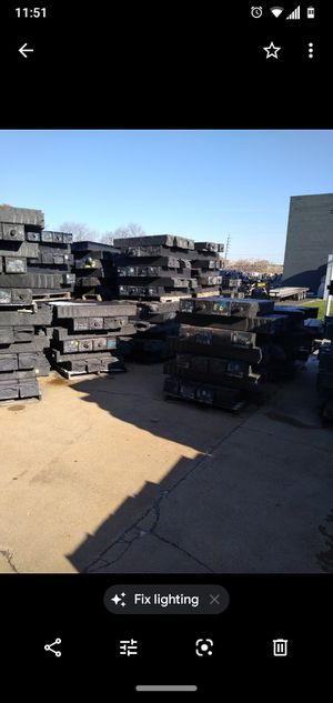 Railroad ties $40 per tie for Sale in St. Louis, MO