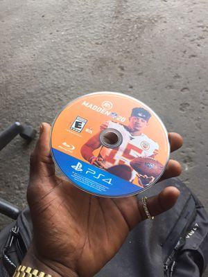 Madden 20 ps4 for Sale in Decatur, GA