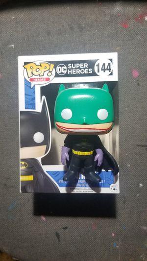 Funko pop DC custom batman v Joker figure for Sale in Santa Monica, CA