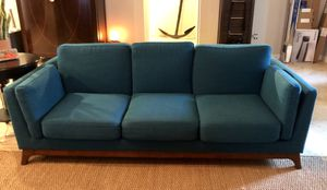 Article Ceni Lagoon Blue Turquoise Sofa Couch for Sale in Brandon, FL