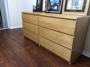 2 IKEA malm dressers for Sale in Miami, FL