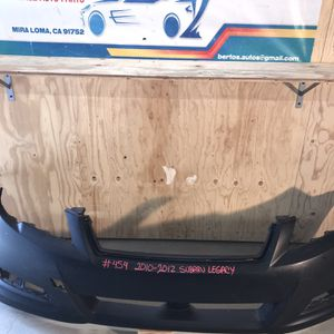 2010-2012 Subaru Legacy Front Bumper for Sale in Eastvale, CA