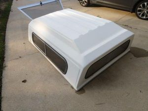 Camper shell for Rangers or small trucks/ chevys /Sonoma with keys for Sale in Raleigh, NC