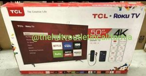 """50S401 50"""" tcl uhd 4k roku TV for Sale in Ontario, CA"""