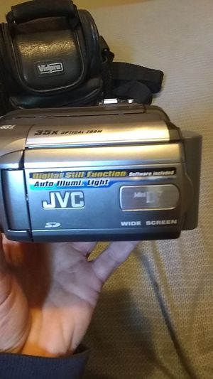 JVC digital still function mini DV wide screen camcorder . 800x digital zoom for Sale in Montrose, CO