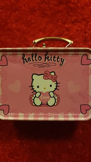 Free Hello Kitty box with 2 toys for Sale in San Leandro, CA