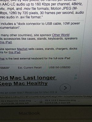 iPad 2nd generation. for Sale in Salt Lake City, UT