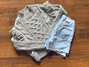 Fringe cream sweater. for Sale in Holiday, FL