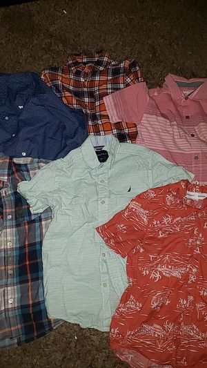 Boys button up shirts size: 7&8 for Sale in Los Angeles, CA