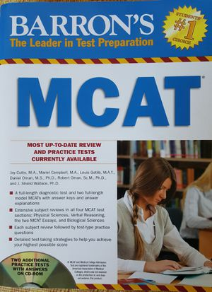 Barrons MCAT with CD for Sale in Portland, OR