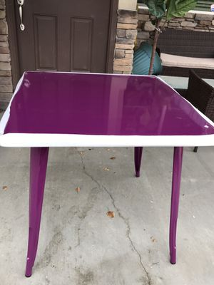 """Flash furniture 31.5"""" square indoor/outdoor metal table for Sale in West Valley City, UT"""