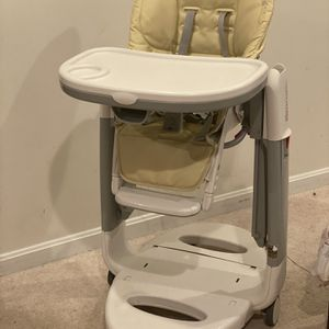 Peg Perego Tatamia Fiordilatte High Chair for Sale in Fairfax, VA