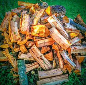 Split cherry wood for smoking and BBQ for Sale in Des Moines, IA