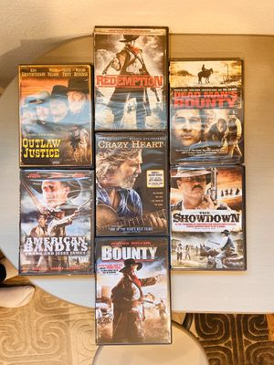 New, unopened Western DVDs for Sale in San Jose, CA