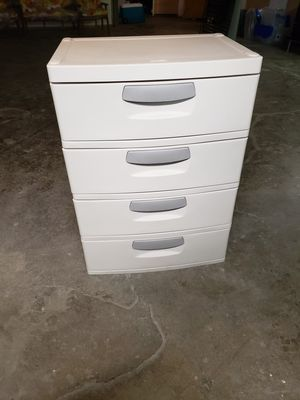 4 Drawer Heavy Duty Plastic Container for Sale in Forest Park, IL
