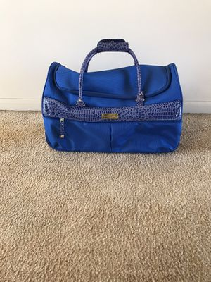 Samantha Brown rolling duffel bag for Sale in Wood Dale, IL