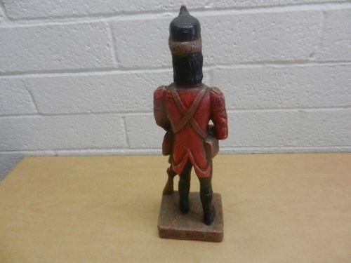 """Vintage Ethan Allen 1967 Collection 13"""" British Soldier Figure/Statue"""