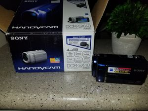 Sony camcorder 145.00 for Sale in Pasadena, TX